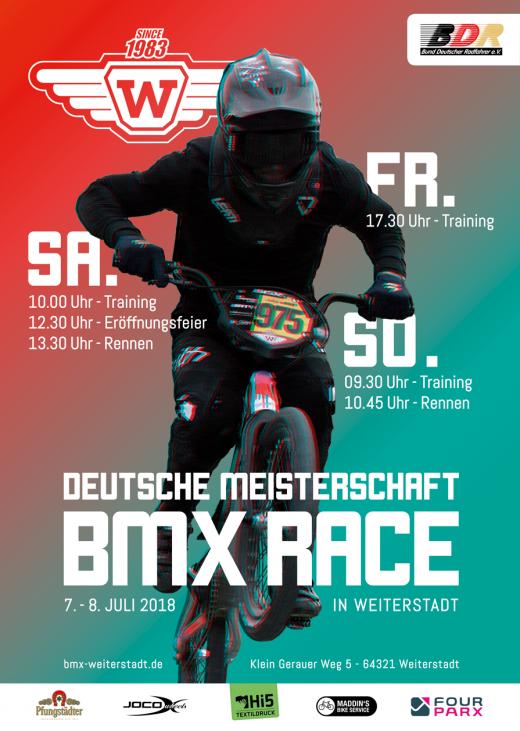 Deutsche BMX Meisterschaft 2018 in Weiterstadt