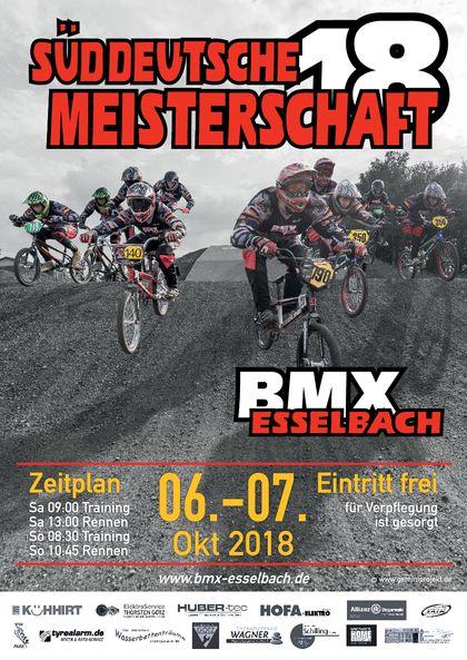 Auf geht's zur Süddeutschen BMX Meisterschaft in Esselbach