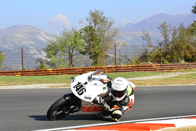 Raceflo Florian Weiß unterwegs mit seiner Moto3