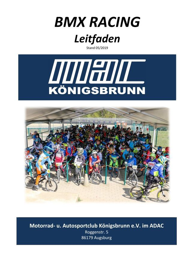 BMX Racing Leitfaden